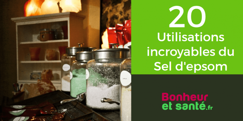 20 utilisations incroyables du sel d epsom j adore la 12 bonheur et sant. Black Bedroom Furniture Sets. Home Design Ideas
