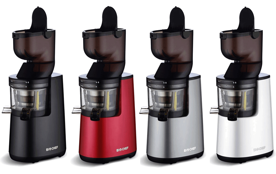 Biochef Atlas Slow Juicer Cena : Extracteur de Jus BioChef Atlas Whole Slow Juicer : notre test Bonheur et santE