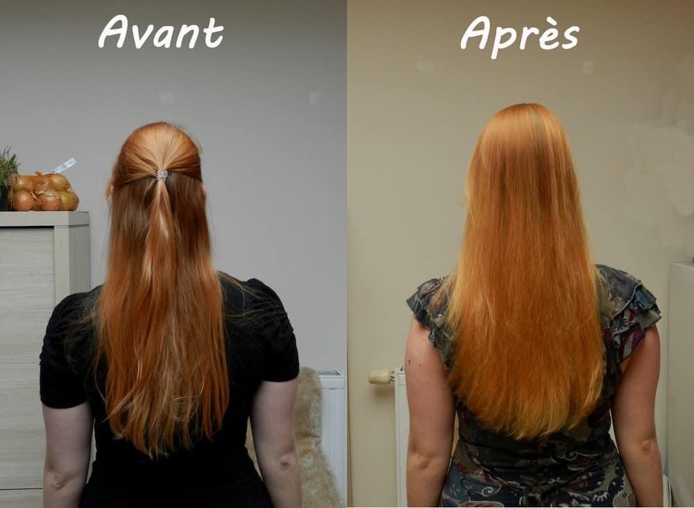 Curcuma-teinture de cheveux