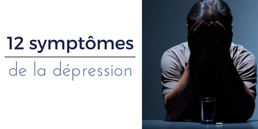 symptome de la déprime
