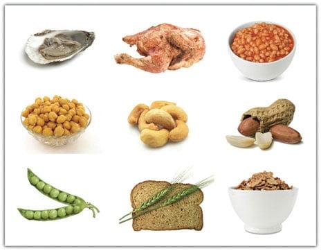nourriture-Zinc