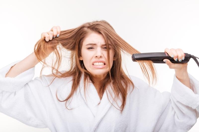 lisser-cheveux-naturellement