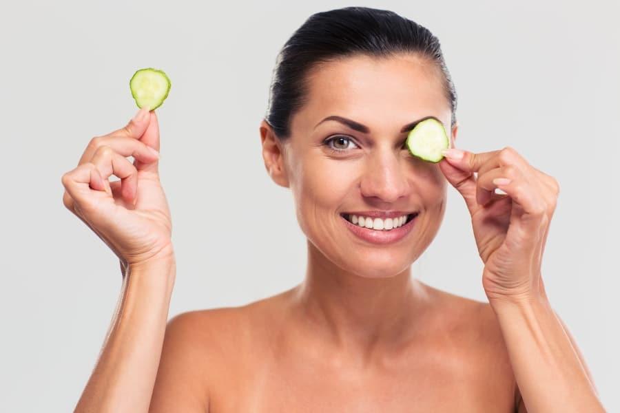 Cerne sous les yeux traitement naturel de lhypertension
