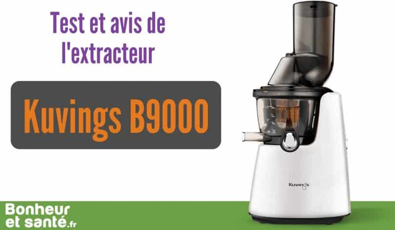 test-avis-Kuvings B9000-extracteur-de-jus