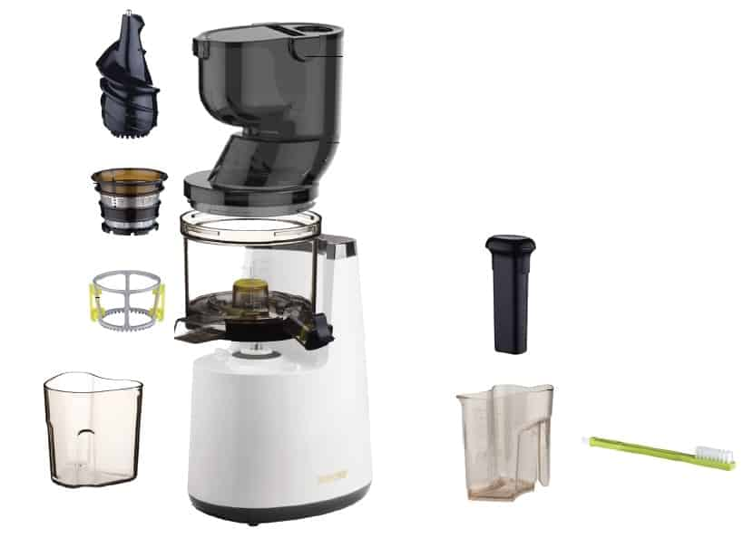 Best Whole Slow Juicer 2017 : Extracteur de Jus BioChef Atlas Whole Slow Juicer : notre test Bonheur et santE