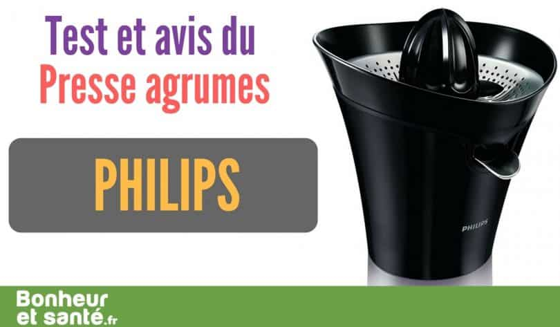 notre test du presse agrumephilips hr2752 90 bonheur et sant. Black Bedroom Furniture Sets. Home Design Ideas