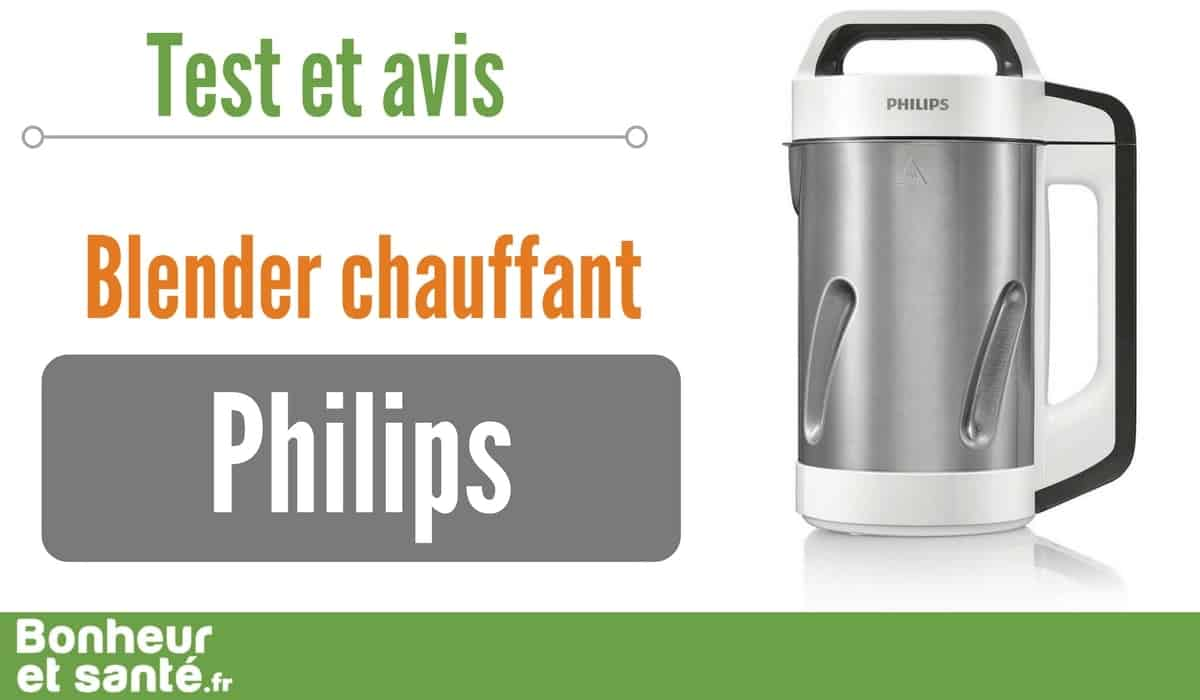 blender chauffant philips le soup maker valu bonheur et sant. Black Bedroom Furniture Sets. Home Design Ideas