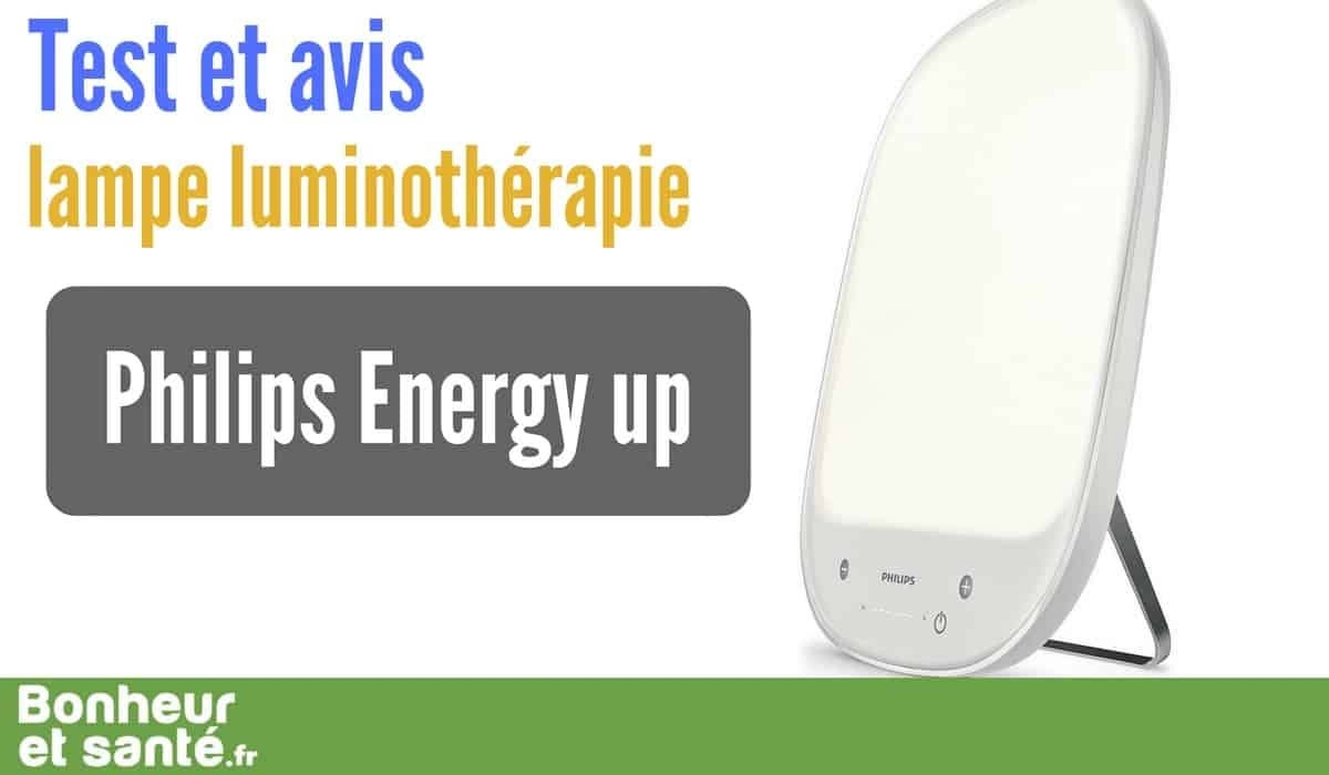 Notre Test De La Lampe De Luminotherapie Philips Energy Up Bonheur