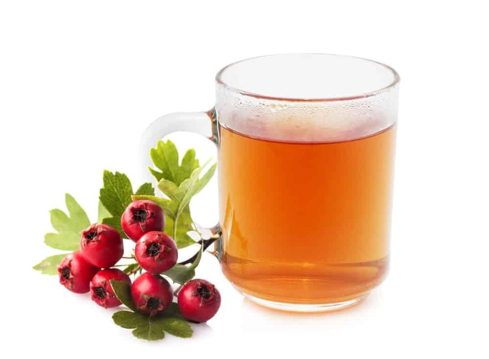 6 bienfaits de l'aubepine-jus et fruits