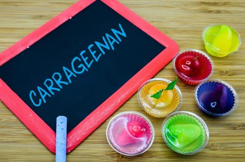 Carraghenane dans les cakes-