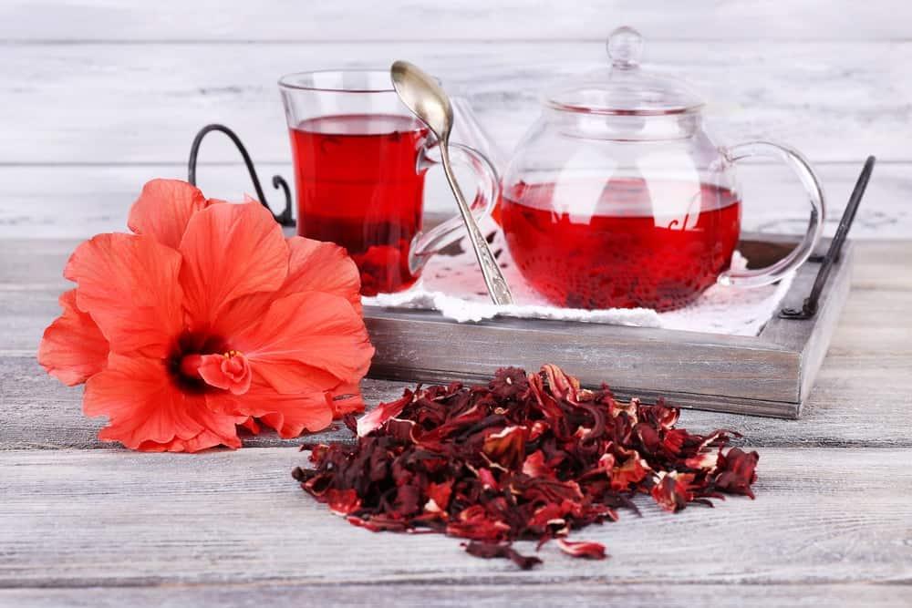 Diuretiques naturels-jus hibiscus-