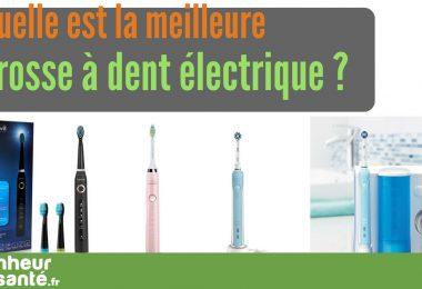 Meilleure brosse à dent electrique