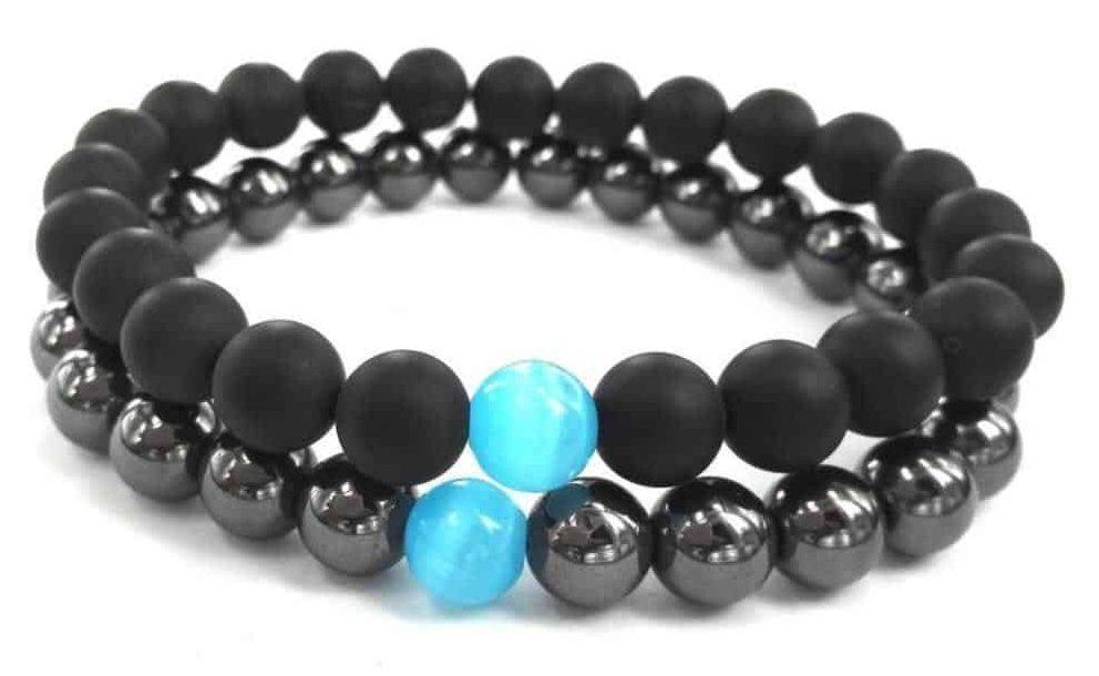 bracelet-hematite