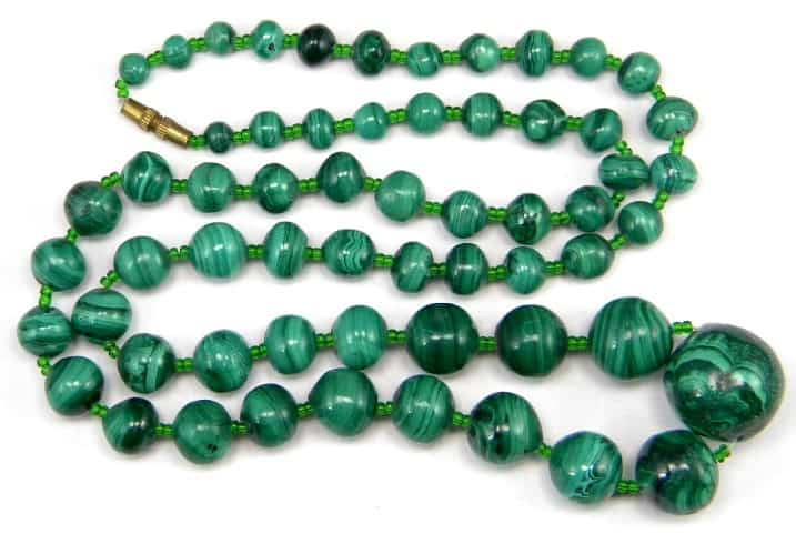 malachite-collier