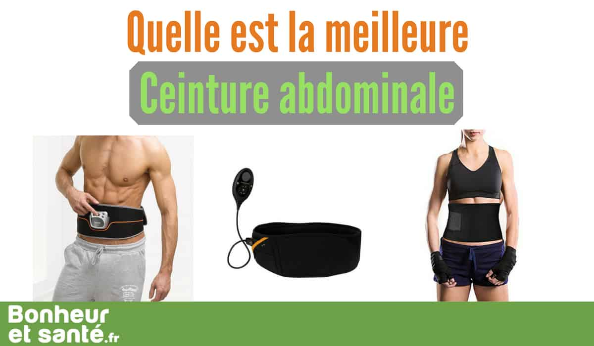 721966243c15f Quelle est la meilleure ceinture abdominale ? Nous testons pour vous |  Bonheur et santé