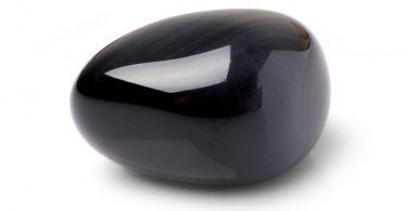 obsidienne -galet